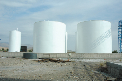 Robat Makhzan Storage Tanks